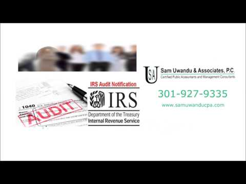 IRS Tax Debt Help | Offer in Compromise | Tax Settlement | Silver Spring MD | Sam Uwandu CPA