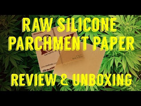 FULL MELT FUSION'S - RAW SILICONE COATED PARCHMENT PAPER REVIEW & UNBOXING #RawLife #RawLife