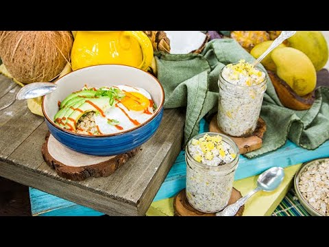 Tropical and Overnight Oats Home & Family