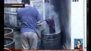 Berita Nasional - 20 Mac 2011 (Laporan Khas: Kraf Kita - Batik Kelantan)
