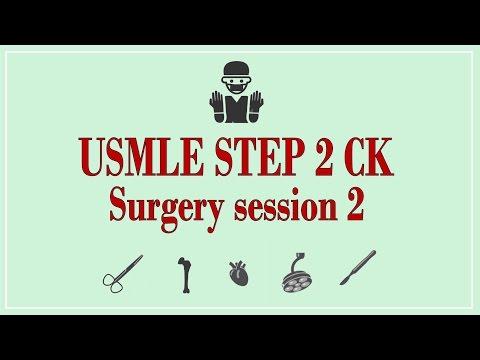 USMLE STEP 2 CK: Surgery 2