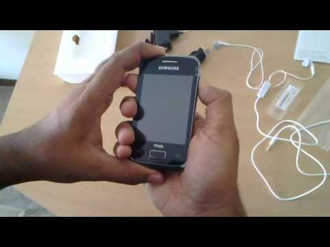 Unboxing Samsung Galaxy Y Duos S6102 Video