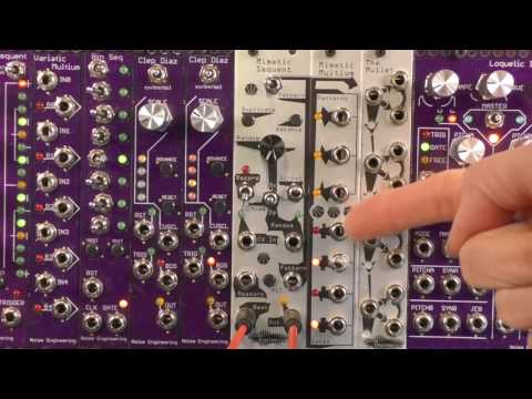 NAMM 2017 Mimetic Sequent One Minute Demo
