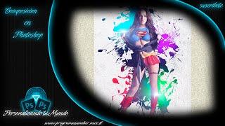 Composición Basica en Photoshop // Flayer Megan Fox