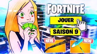 SAISON 9 FORTNITE: SKINS AND NEW !!!