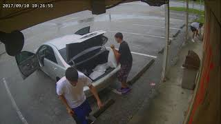 Looting in Tampa? Hurricane irma