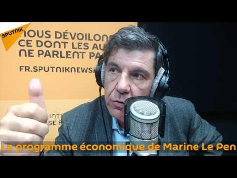 Le programme économique de Marine Le Pen