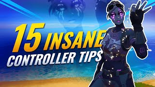 15 Simple Tips To Make You A Better Controller Player! - Fortnite Battle Royale