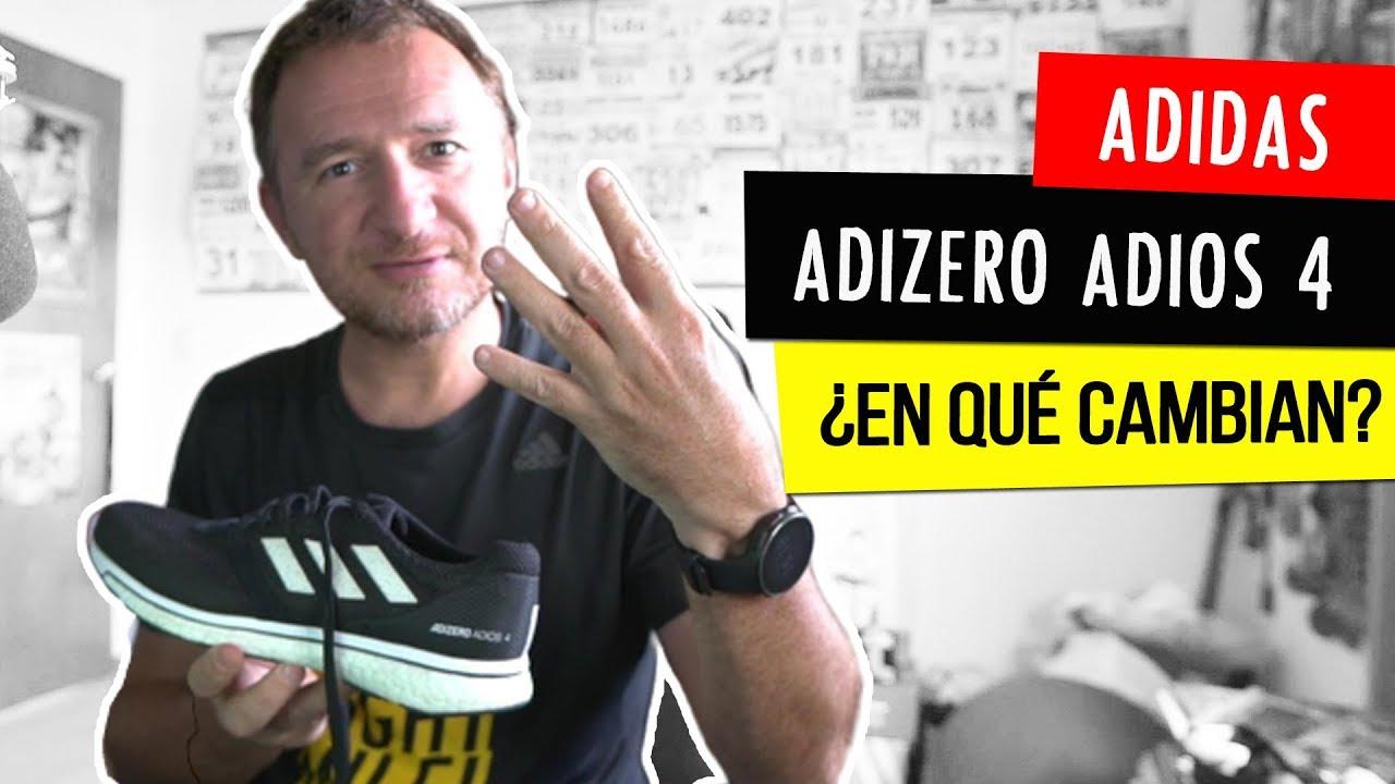 caligrafía carbón Cortar  adidas ADIZERO ADIOS 4: ¿para QUÉ CORREDORES SON? - YouTube