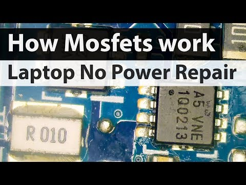 asus-laptop-no-power-not-charging-repair--how-mosfets-work-and-short-circuit-diagnosis