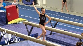 Whitney Bjerken Gymnastics Mock Meet | Balance Beam
