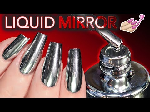 "THE ""WORLD'S FIRST"" LIQUID MIRROR NAIL POLISH?! (conspiracy theories)"