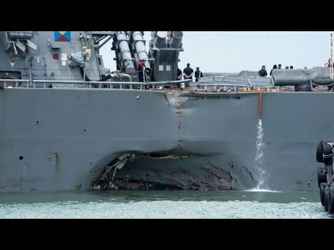 Navy Ship Captains From Collisions Up On Homicide Charges