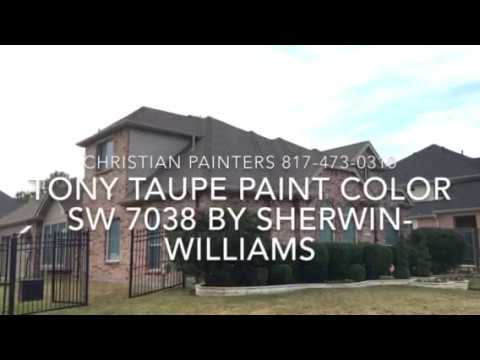 Tony Taupe Paint Color SW 7038 By Sherwin Williams