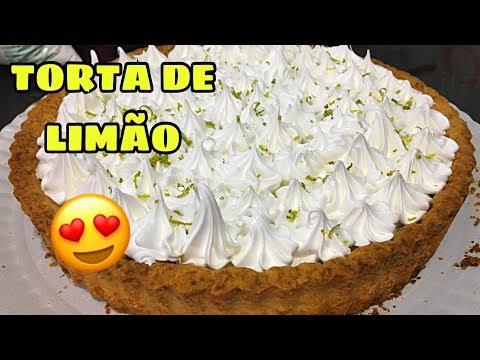 TORTA DE LIMÃO MARAVILHOSA E SUPER FÁCIL