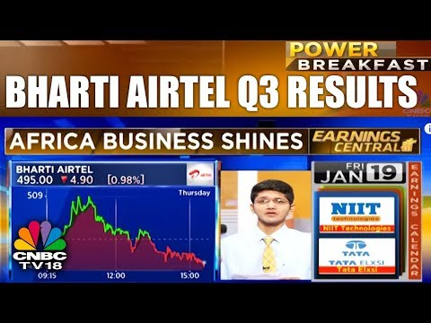 Bharti Airtel Q3 Results: Africa Business Outshines | Power Breakfast | CNBC TV18