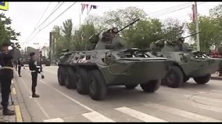 Парад в День победы в Керчи