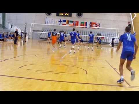EUSA 2013 Volleyball: University of Nis - Technical Universi