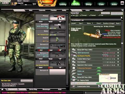 Combat Arms Eu Selling Account 2lt 3  2014