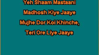 Yeh Shaam Mastaani Karaoke