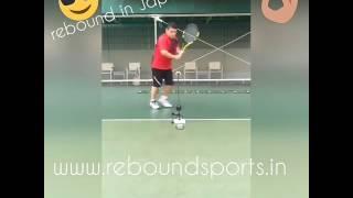 rebound tennis trainer in Japan
