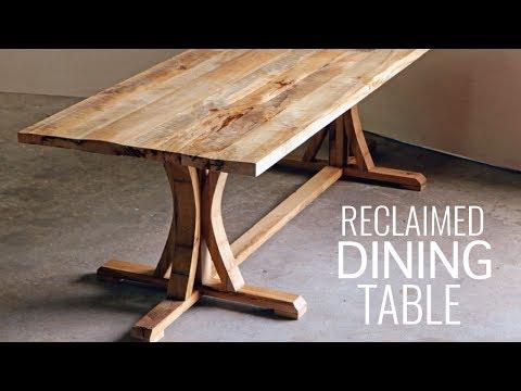 DIY Create A Rustic Farmhouse Dining Table