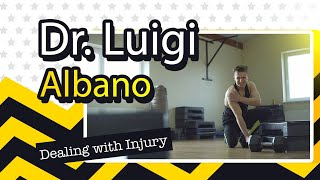 Dealing with injury with Dr  Luigi Albano