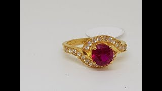 Latest light weight gold Finger Rings designs with weight