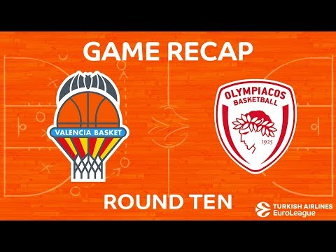 Highlights: Valencia Basket - Olympiacos Piraeus