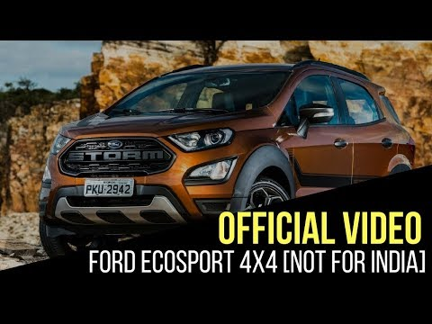 Ford Ecosport 4wd Spied In India Should You Wait For One We Tell You
