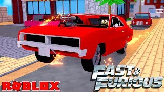 ROBLOX CAR SIMULATOR - DONUT & ROPO STAR IN THE FAST & FURIOUS