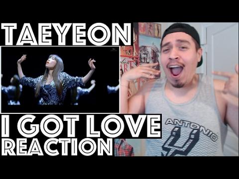 TAEYEON I Got Love MV REACTION