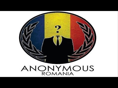 Anonymous Romania - Imbrăca Masca Digitala ( Donning the Digital Mask )