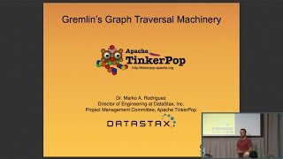 DataStax | Graph Computing with Apache TinkerPop (Marko Rodriguez) | Cassandra Summit 2016