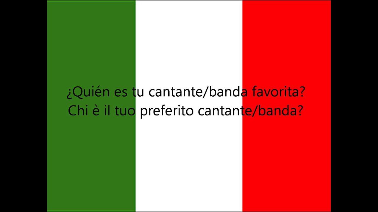 Muitas vezes Aprender Italiano: 150 Frases Italianas Para Principiantes PARTE 2  TX47