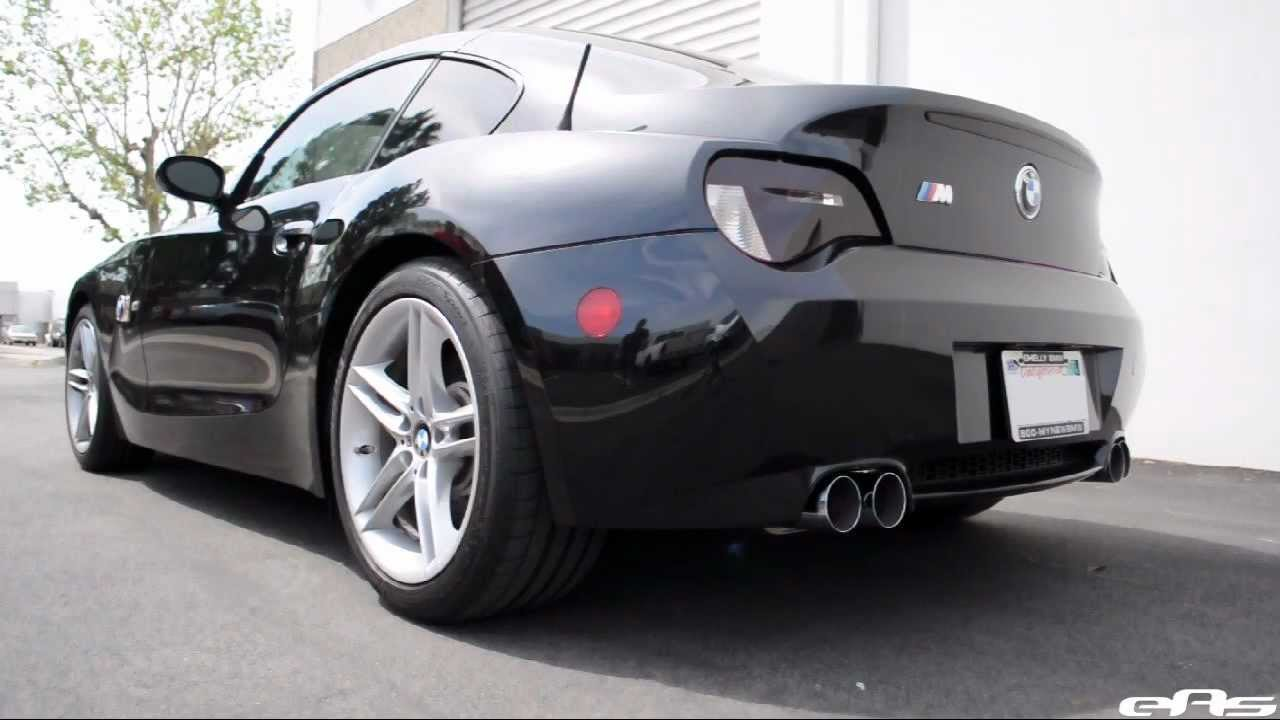 eas  2007 BMW Z4M Eisenmann Race Exhaust Sound Clip  YouTube