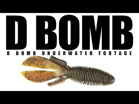 D Bomb Underwater Footage