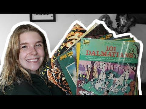 Old Record Haul (Feat. Survivor, Boston & Disney) | Olivia Rena