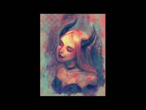 "1-Hour Speed Painting ""Devil Woman"" by Yuko Rabbit"