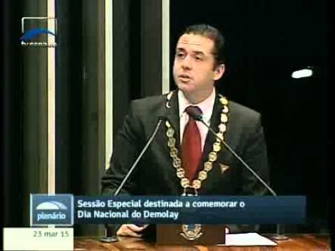 Ordem DeMolay tem por objetivo criar bons cidadãos, ressalta João Bosco Monteiro (@DeMolayBrasil)