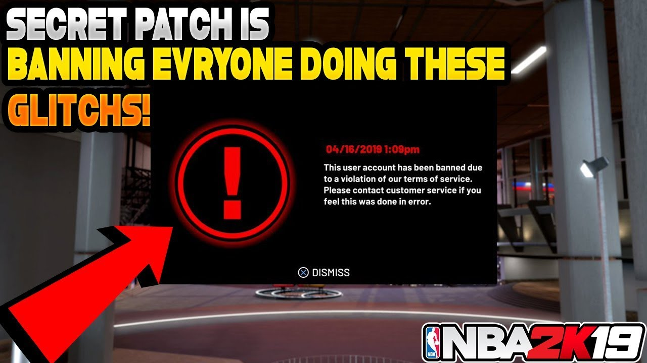 *NEW* VC glitch,BADGE glitch & CAP BREAKER GLITCH IN NBA 2K19 PATCHED? NEW  SECRET PATCH WILL BAN YOU