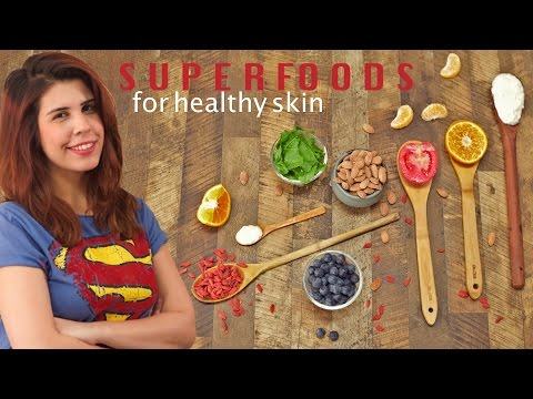 5 Foods For Glowing Skin - Superfoods | Healthy Food Ideas - Glamrs