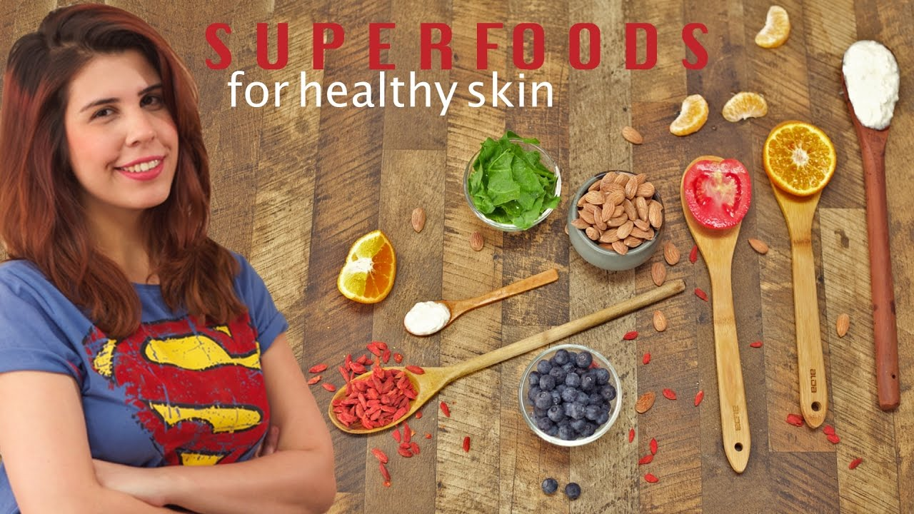 12 Foods For Glowing Skin - Superfoods  Healthy Food Ideas - Glamrs