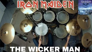 Iron Maiden - THE WICKER MAN (Drum Cover)