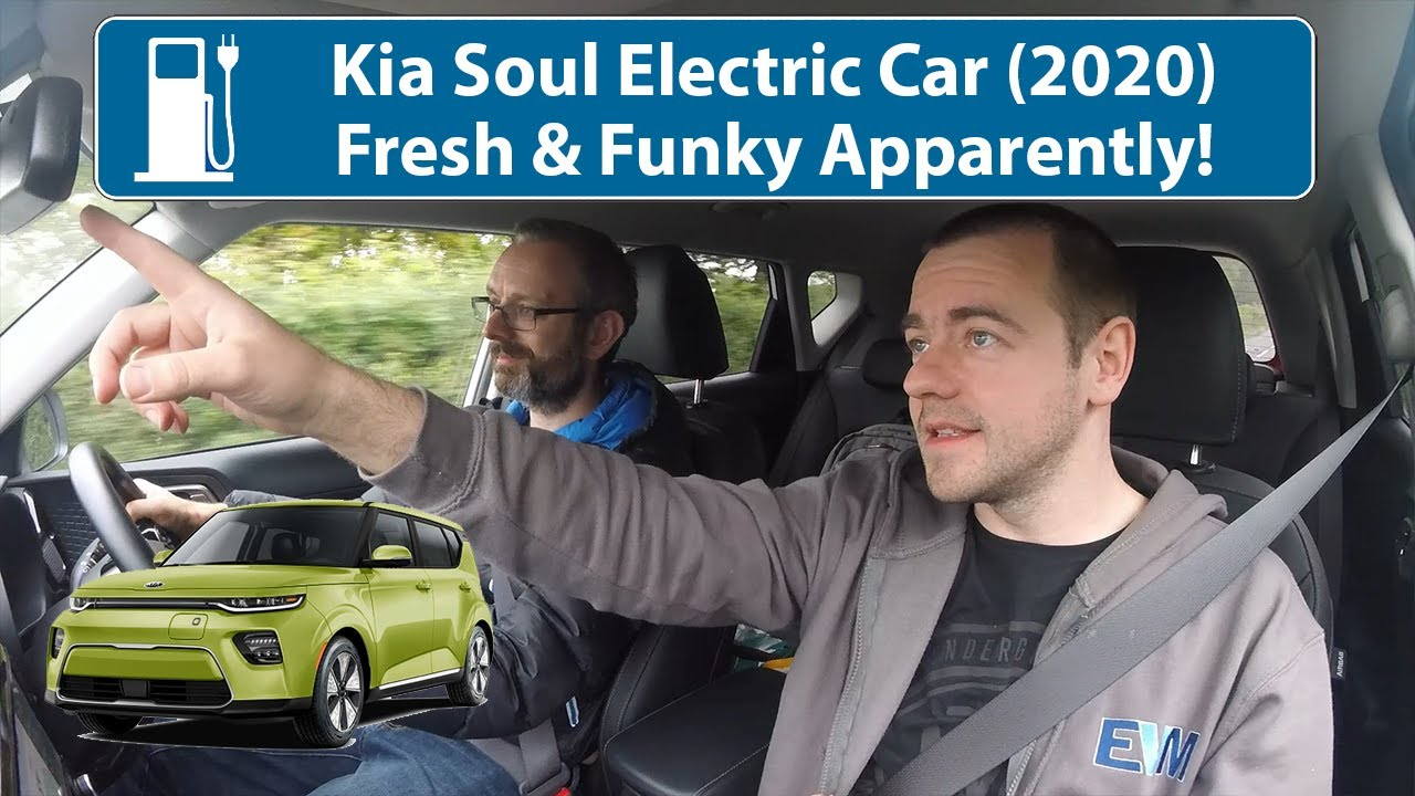 Kia Soul Electric - Not Sure Who It's For? Maybe I'm Not Funky Enough!