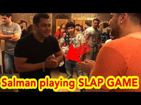 Salman Khan Plays Red Hands With Nephews Arhaan, Nirvaan, Ayaan in These Hilarious Videos Funny clip Mp3