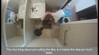 Small Bathroom Remodel - Save Money by Doing it Yourself