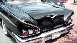1958 Impala   Seaside Cruizers Qualicum Beach   2012