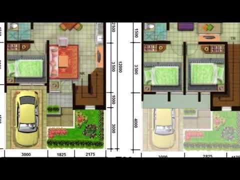Contoh Denah Rumah Minimalis Type 45 Terbaru