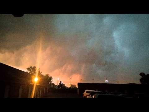 Amazing storm cloud over Appleton WI 7-18-15